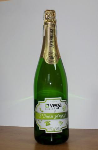 Галерея наклеек на шампанское